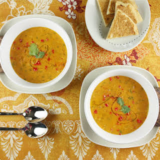 Red Lentil Soup with Lemon.
