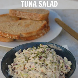 Healthy Crunchy Tuna Salad.