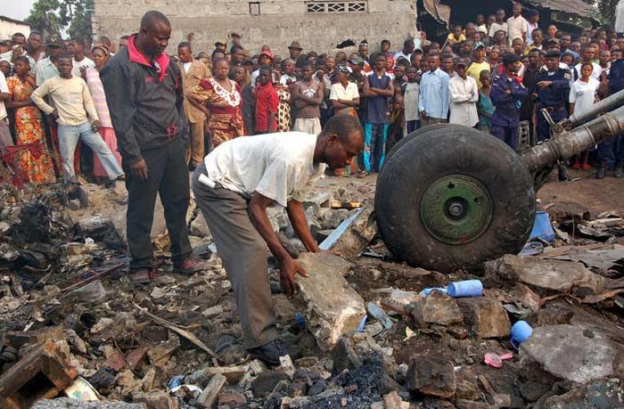 8 января 1996 года Катастрофа Ан-32 в Киншасе