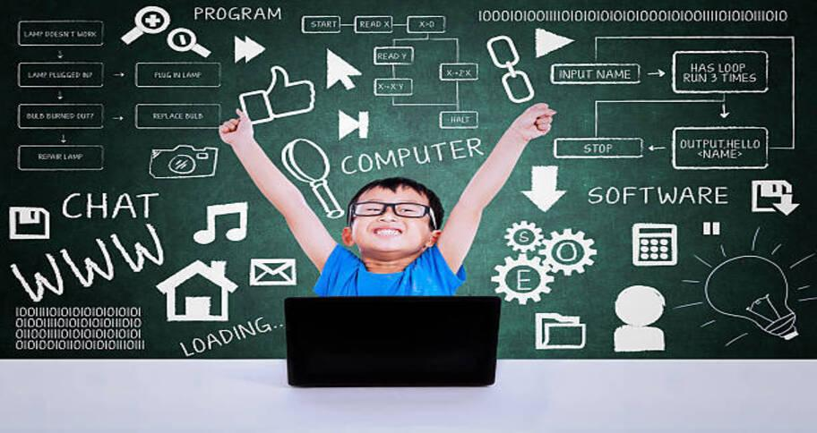 when kids learn to code