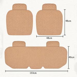 Set huse de protectie pentru scaunele auto, Negru