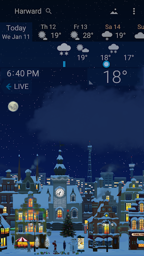 Awesome Weather - YoWindow screenshot 1