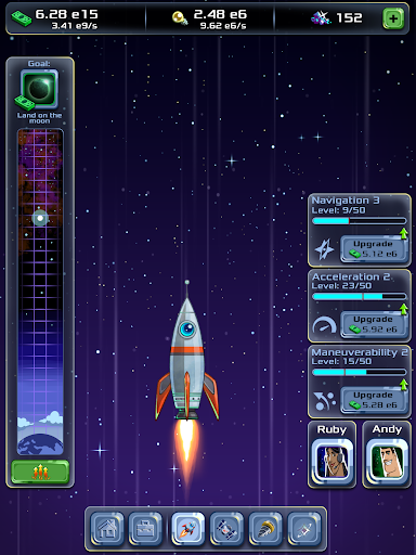 Idle Tycoon: Space Company  screenshots 7