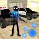 Police Superhero Stickman Rope Hero Gangstar Crime