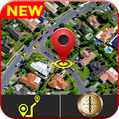 GPS Live Map Direction, Street View & Speedometer
