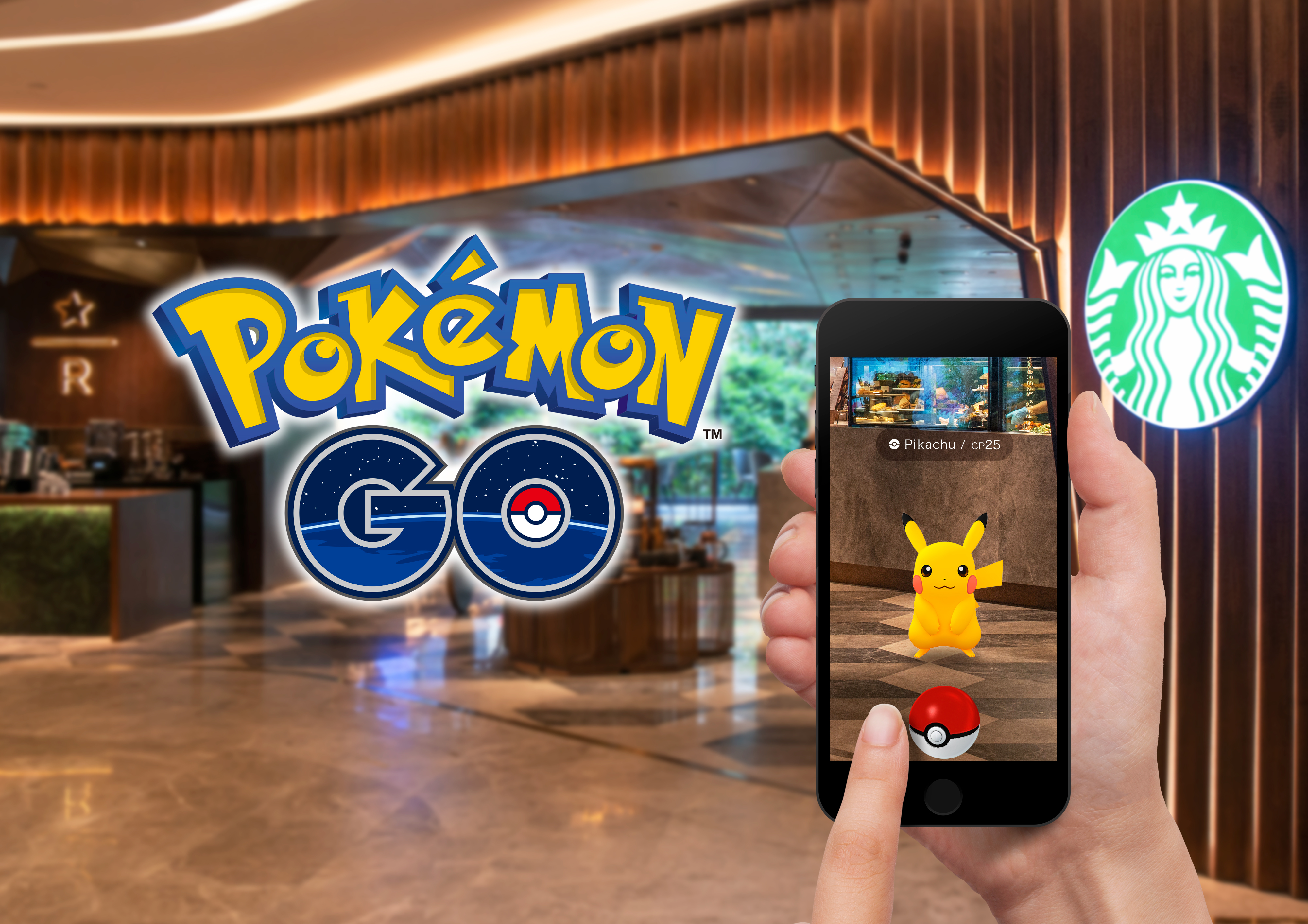 Pokémon GO partners with Starbucks in Select Asia Markets