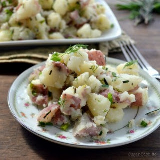 Warm Herbed Potatoes