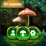 3D Nature Forest Mushroom Live Wallpaper &Launcher 2.3.4.2296