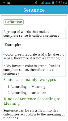 Sentence with Practice - Apps on Google Play