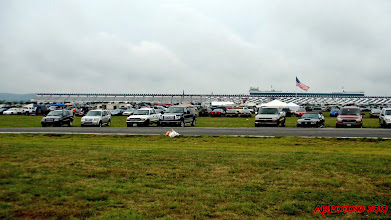 Photo: the stands at the Pocono track