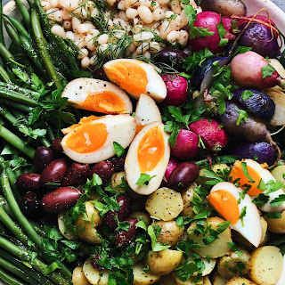 Spring Salad NiçOise with Navy Beans Recipe