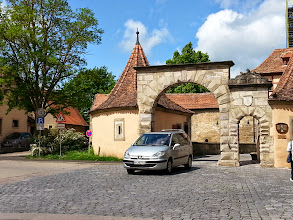 Photo: Entering Rothenburg ob der Tauber, you know you're stepping into a different world.