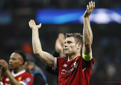 James Milner prolonge jusqu'en 2022 à Liverpool