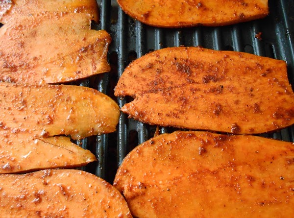 Lay on med hot grill and cook on each side for about 10-15 min...