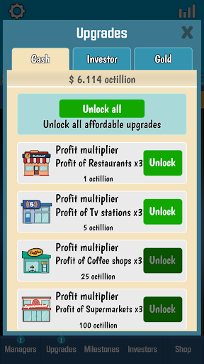Business Tycoon - Idle Clicker 1.4.5 {cheat|hack|gameplay|apk mod|resources generator} 4