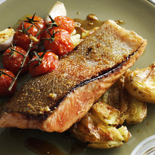 Honey Glazed Steelhead Trout