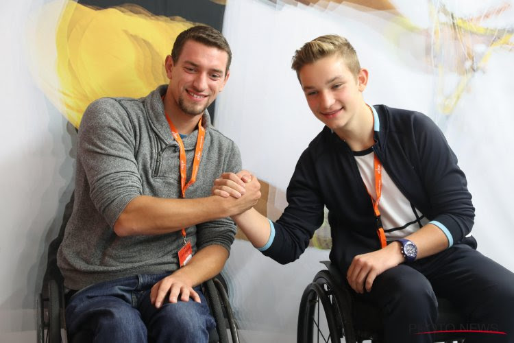 Jef Vandorpe net als andere paralympiër gesteund door Be Gold in navolging van Nafi Thiam en Nina Derwael