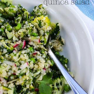 Green Salad Quinoa Recipes.