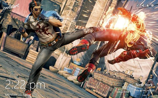 Tekken 7 HD Wallpapers Games New Tab Theme