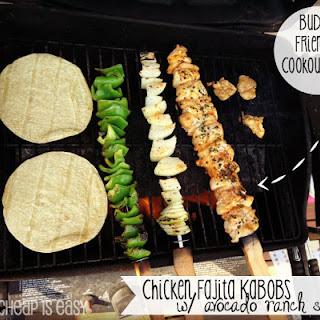 Chicken Fajita Kabobs