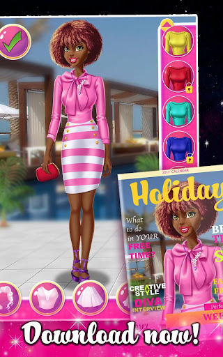 Cover Fashion - Doll Dress Up 1.1.5 Screenshots 16