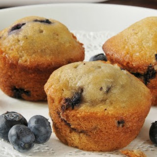 Mouth-watering Blueberry Muffins.