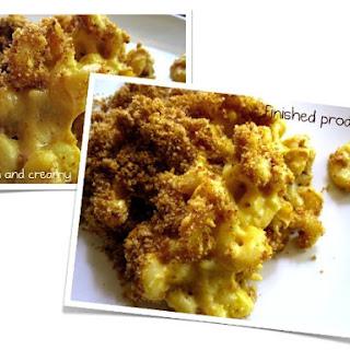 Baked Mac 'n' Cheese.