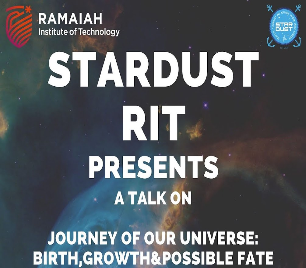 Talk on Journey of our Universe: Birth, Growth & Possible Fate