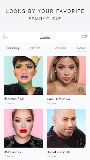 MakeupPlus - Your Own Virtual Makeup Artist screenshot 4