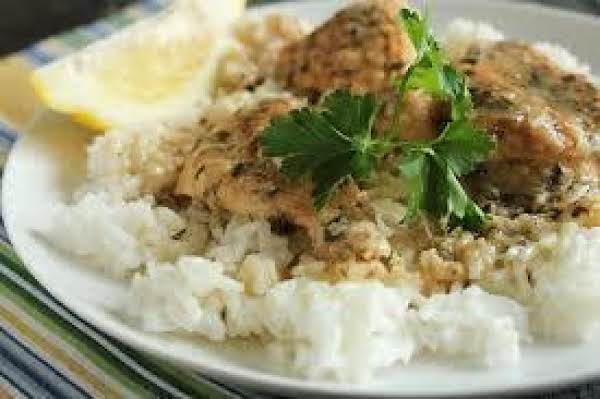 Crock Pot Lemon Chicken With Rice Recipe