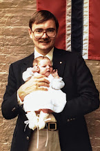 Photo: Phoebe and Me in 1984