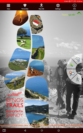 Sifnos Trails topoguide 2.8 screenshots 7