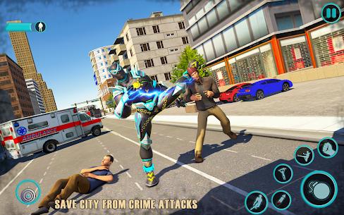 Flying Panther Robot Hero Fighting Game 3