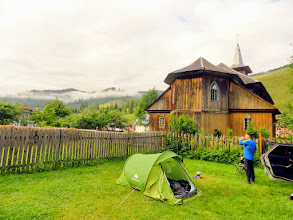 Photo: Accommodation is possible at a local Dutch-managed camping or...