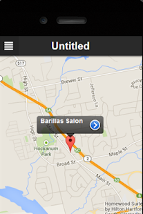 Barilla's Salon- screenshot thumbnail