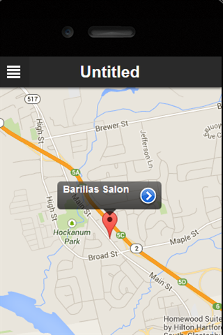 Barilla's Salon- screenshot