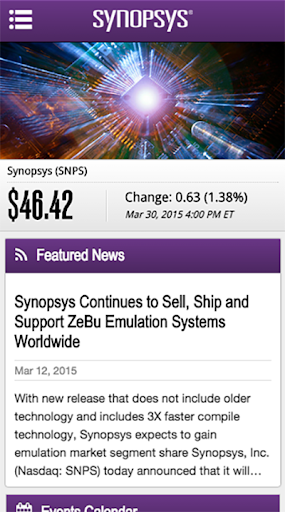 Synopsys IR 1.2