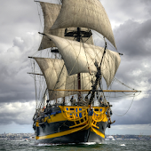 sailing ship live wallpaper