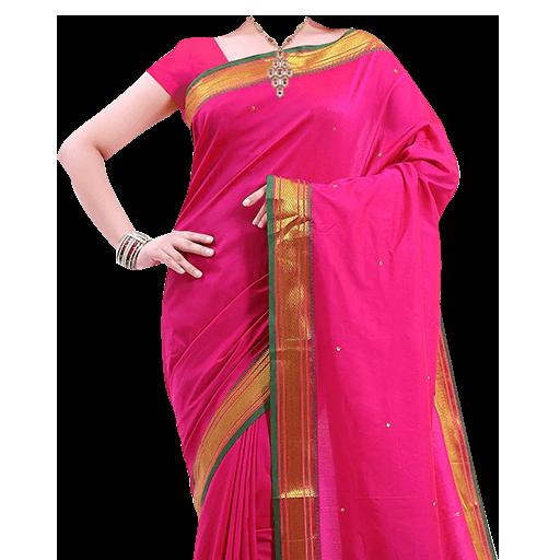 Women Saree Photo Suit