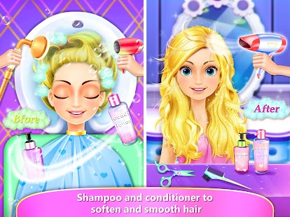 Rainbow Hair Salon Dress Up Android Apps On Google Play - Games for hairstyle and dress up