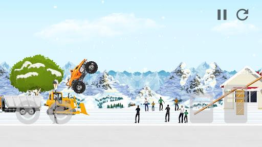 Code Triche Monster Truck Crot: Monster truck racing car games APK MOD screenshots 4