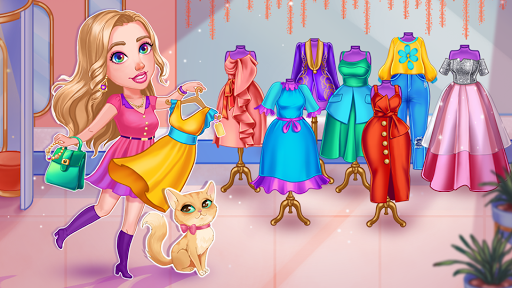 Emma's Journey: Fashion Shop apkpoly screenshots 1