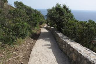 Photo: Continua il serpentone di cemento