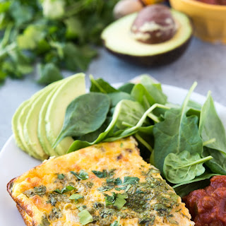 Egg and Chorizo Breakfast Casserole.