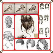 Learn to draw Hair