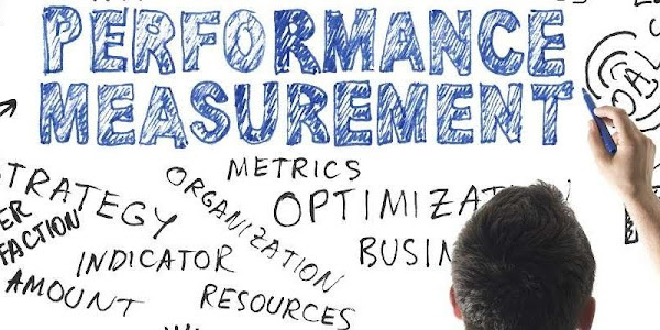 Performance measurement written on white board