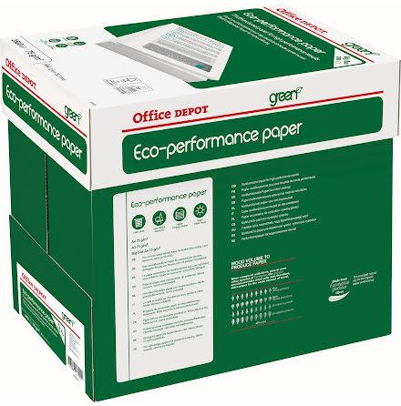 Papper OD Eco A4 75g 2500/kt