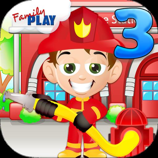 消防士子供3年生のゲーム 教育 App LOGO-硬是要APP