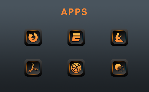 Orange Dude Icon Pack v1.8.0 [Patched] 3