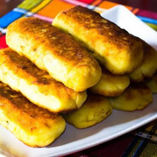 Potato Rolls With Minced Meat.